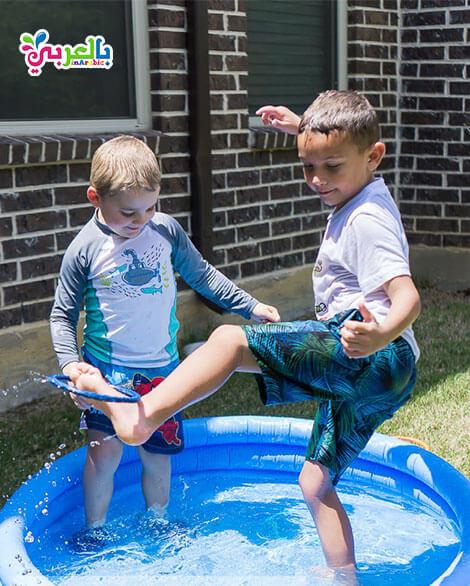 العاب مائية للاطفال