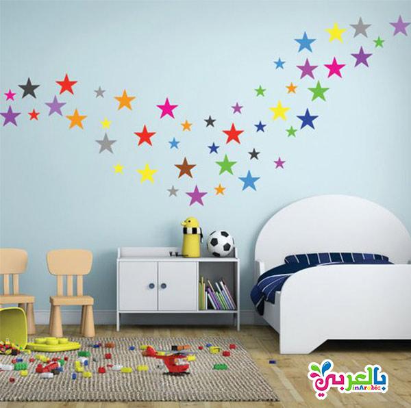 تزيين غرف الاطفال بالملصقات