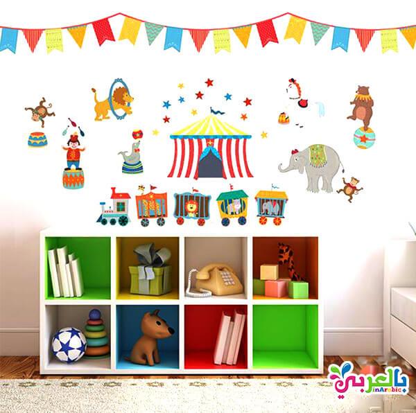 افكار لتزيين غرف نوم اطفال