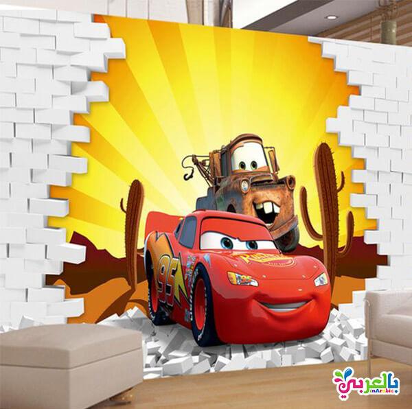ورق جدران اطفال ثلاثي الابعاد