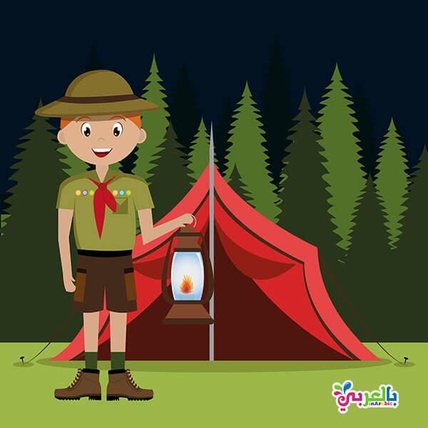 فريق الكشافة للاطفال - برنامج الاجازة الصيفية للاطفال