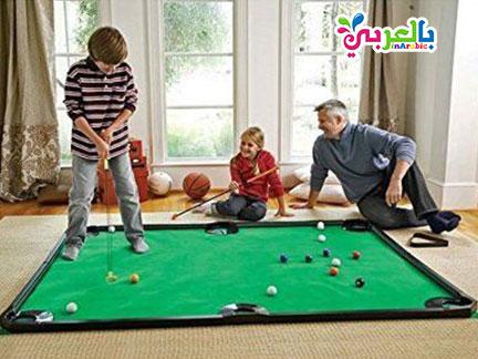 لعبة البلياردو للاطفال