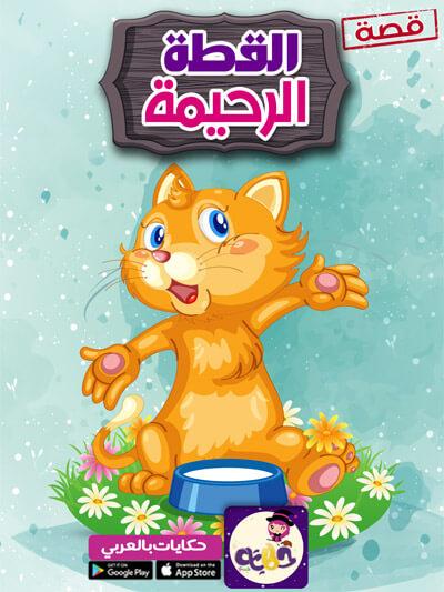 قصة القطة الرحيمة مصورة :: قصص العقيدة للاطفال قصص عن الرفق بالحيوان للأطفال