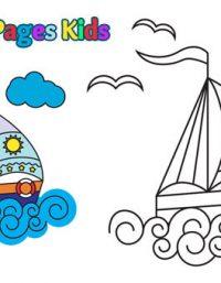 رسومات اطفال عن فصل الصيف - happy summer coloring pages to print