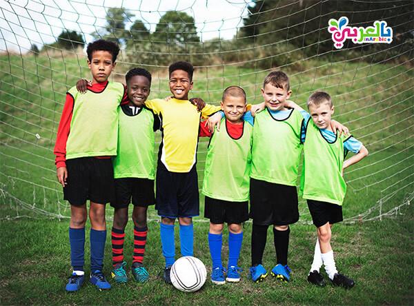 تعليم كرة القدم للاطفال