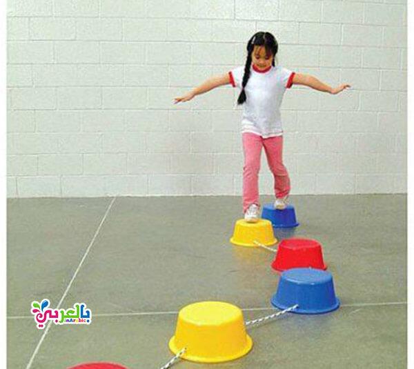 لعبة القفز للاطفال - انشطة وألعاب خارجية للاطفال الصغار