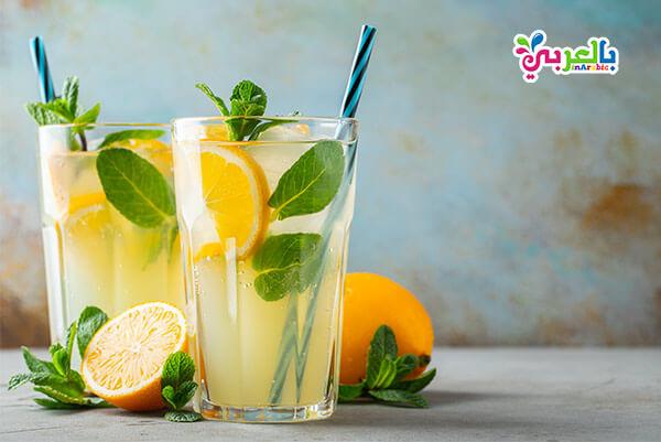 عصير الليمون والنعناع