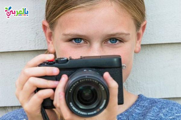 تعلم الاطفال فن التصوير - افكار للاجازة الصيفية للبنات