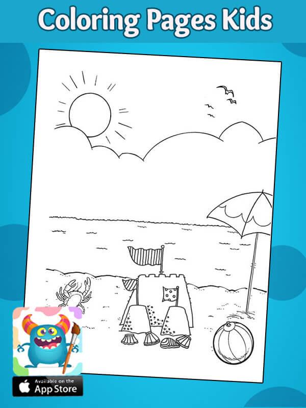 رسومات فصول السنة للاطفال للتلوبن