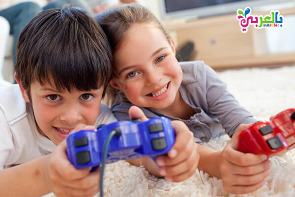 العاب الفيديو للاطفال - استغلال الاجازة الصيفية