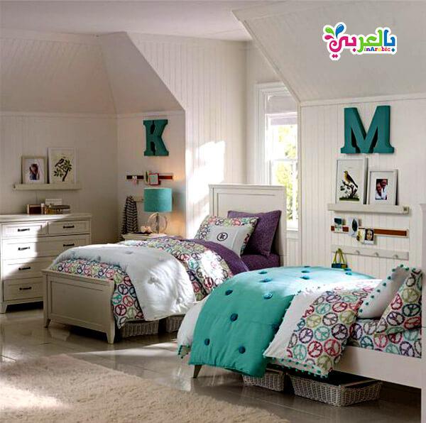 الوان حوائط غرف اطفال - ديكورات غرف نوم اطفال