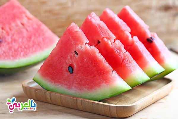 البطيخ فاكهة الصيف