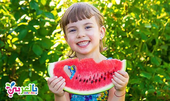 فوائد البطيخ الساحرة في الصيف للاطفال والكبار