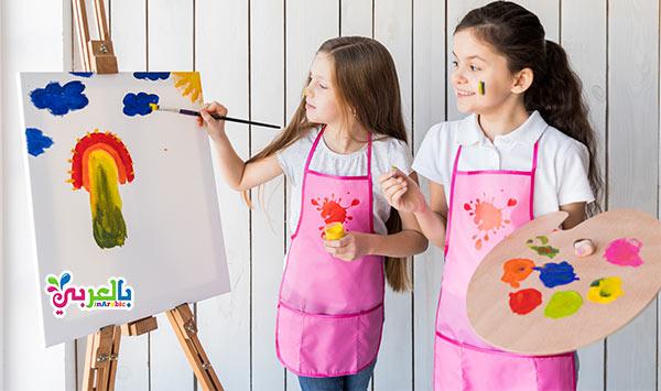 تعلم الرسم للاطفال - افكار انشطة صيفية للاطفال