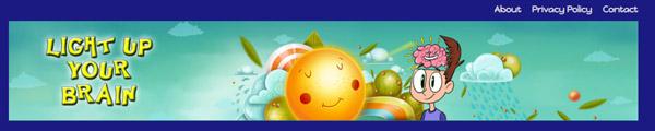 lightupyourbrain.com - أفضل مواقع العاب تعليمية للأطفال