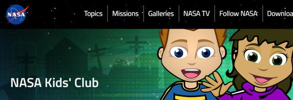 موقع ناسا لاطفال - أفضل مواقع العاب تعليمية للأطفال