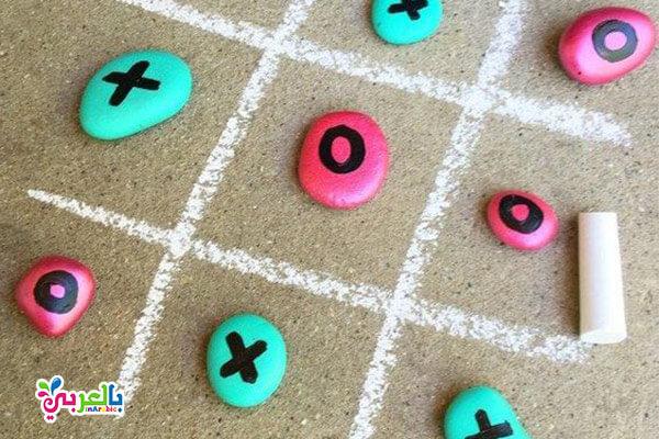 لعبة اكس او - انشطة صيفية للبنات