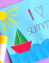 summer crafts for preschoolers