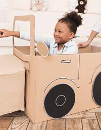 cardboard easy paper crafts for kids