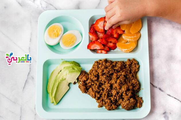 فطور صحي للاطفال للمدرسه
