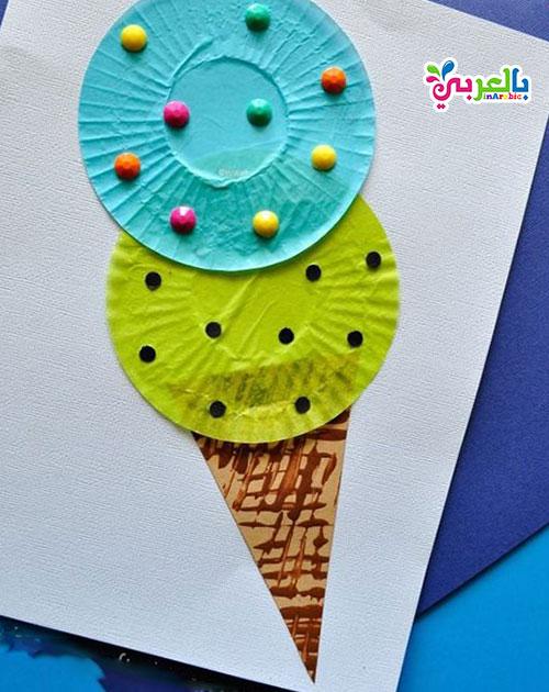 اعمال فنية للاطفال بالورق الملون - Art and Craft ideas for kids