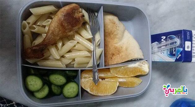 أفكار لأشكال وجبات و سندوتشات المدرسة بالصور