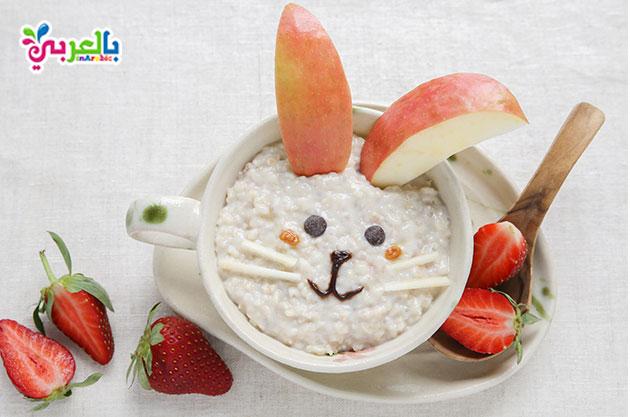 وجبات فطور الصباح للاطفال : بليلة بالفواكه والحليب