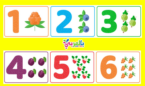 اوراق عمل لرياض الاطفال ارقام - number worksheets for kindergarten