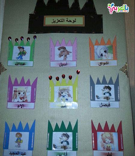 لوحات تعزيز لاطفال الروضه