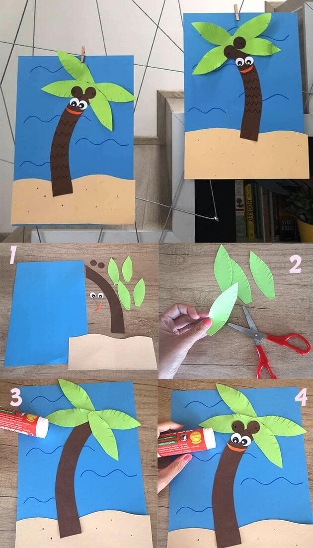 10 اعمال يدوية للصيف ممتعة للاطفال