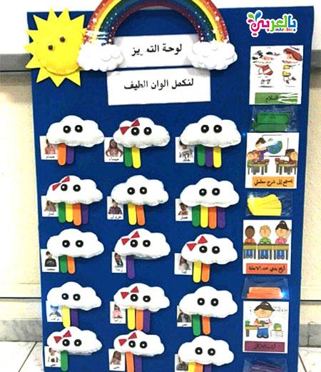 افكار لوحة تعزيز للاطفال 2019