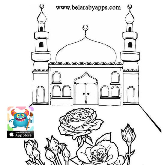 رسم المسجد النبوي