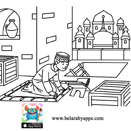 نشاط للاطفال عن المولد النبوي
