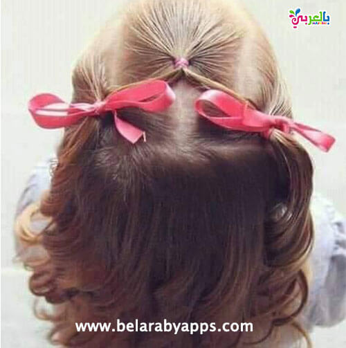 احدث تسريحات شعر للاطفال