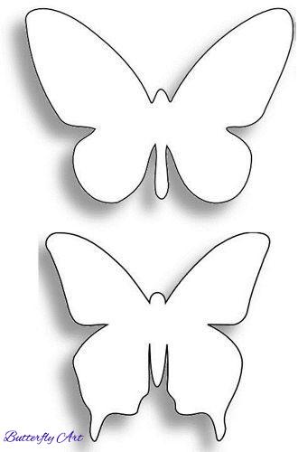 butterfly template pattern