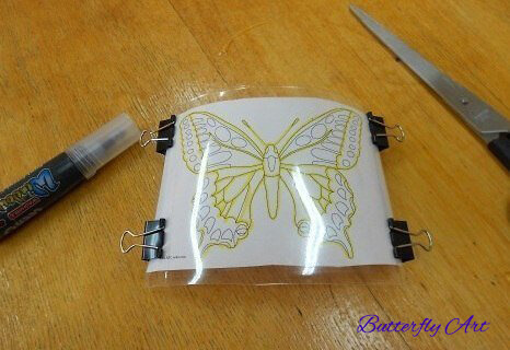 Butterfly Art Work simple