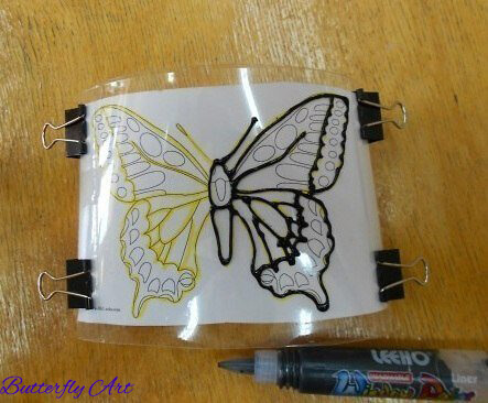 butterfly art drawing ideas