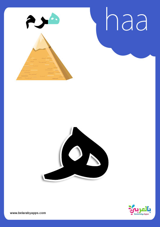 28 Arabic Alphabet Cards Arabic Flashcards