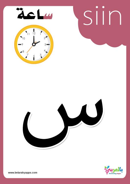 Arabic Alphabet Cards Arabic Flashcards
