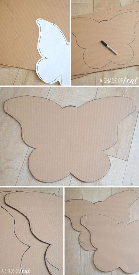 butterfly paper cutting patterns