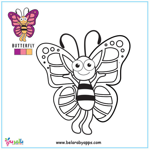 Butterfly Coloring Pages For Kids