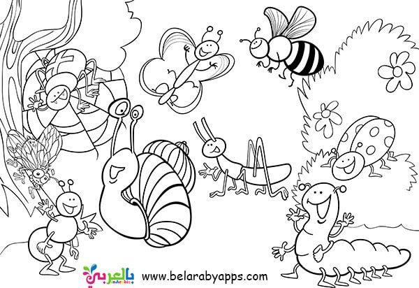 butterfly coloring pages easy