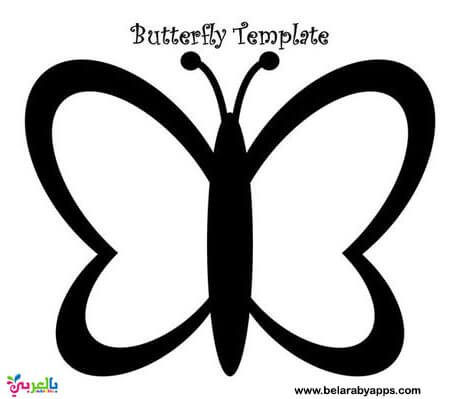 Free Printable Butterfly Templates - butterfly template twinkl