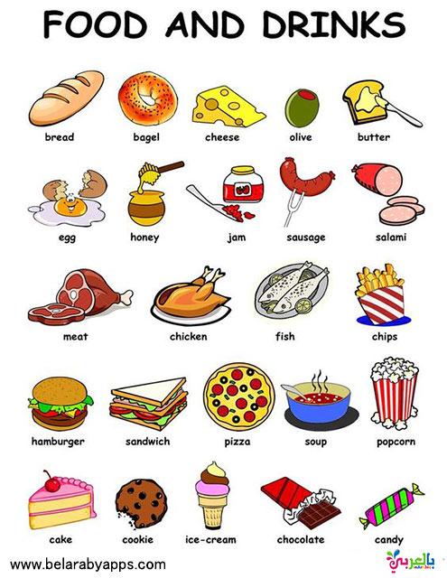 كلمات انجليزية سهلة للاطفال