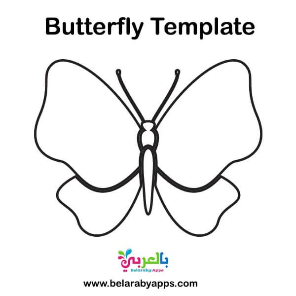 butterfly template twinkl