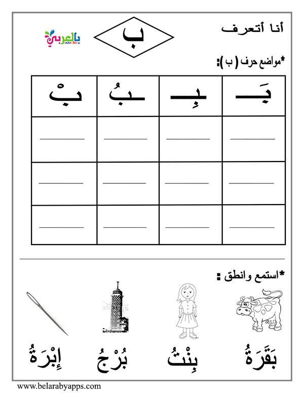 قصة حرف الباء لرياض الاطفال قصص الحروف العربية بالصور بالعربي نتعلم