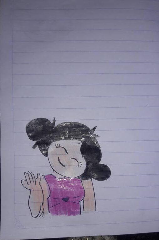رسومات تزيين دفاتر المدرسة للبنات سهله وكيوت
