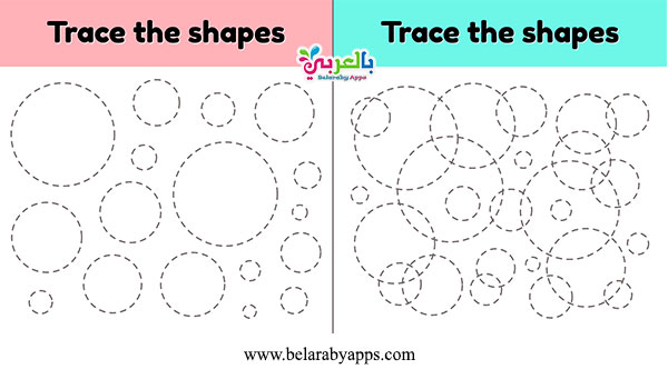 Preschool Shapes Worksheets coloring page