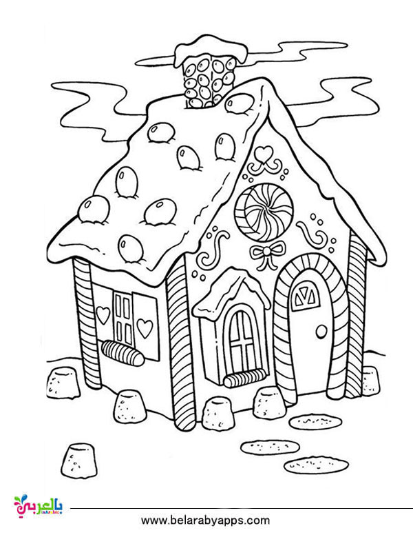 Christmas Cards Coloring Pages - Coloring Home | 776x600