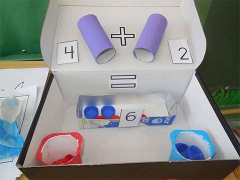 وسائل تعليمية رياضيات لرياض الاطفال